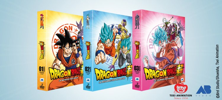 dragon ball super la saga d barque en coffret dvd et blu ray. Black Bedroom Furniture Sets. Home Design Ideas