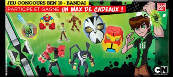 Nouveau concours ben 10 avec cartoon network - Jeux ben 10 info ...