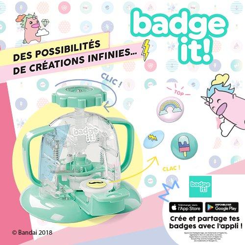 Badge it la machine cr er des badges version 2 0 pour - Machine pour faire des badges ...